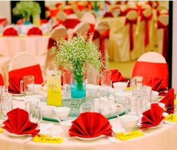 Tư vấn mua bàn ghế nhà hàng tiệc cưới khách sạn giá rẻ tại Hà Nội