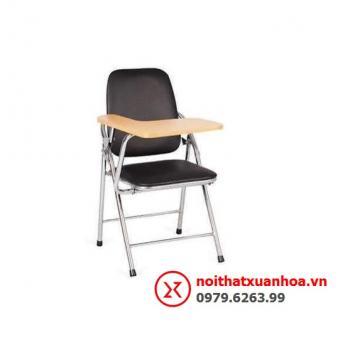 Ghế có bàn viết chân inox GI-05-00B