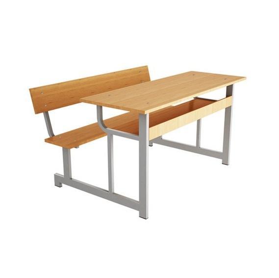 BHS1600 | Bàn học sinh liền ghế BHS-16-00