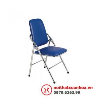 Ghế gấp phòng họp chân inox GI-05-00