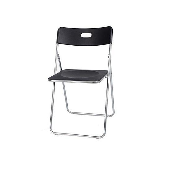 GI2200 đen   Ghế gấp inox GI-22-00 màu đen  Ghế gấp xuân hòa