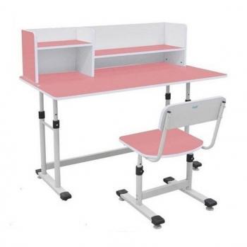 Bộ bàn ghế học sinh BHS-13-07 màu hồng